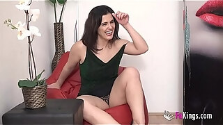 3 cocks for milf montse which one will be the lucky one that fucks her