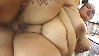 brunette black bbw whore elizabeth rollings gets her pussy pounded by hard cock