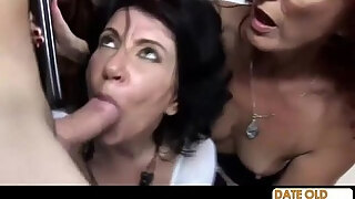old granny sexy party