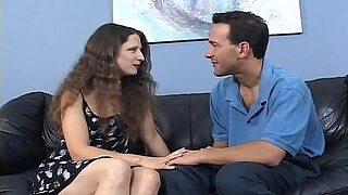 hot milf fucked on her hairy pussy