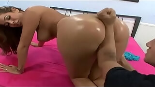 unbelievable milf pulls out her stunning boobs and takes care of a big cock