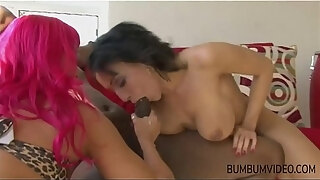 two milf fucked by big black cock