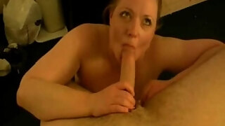 chubby girlfriend fucked and creampied