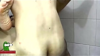 hard on the shower milf caught with a hidden spycam by a voyeur raf318
