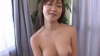 pretty japanese milf finger fucking