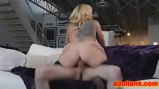 busty lady makes it hard for me