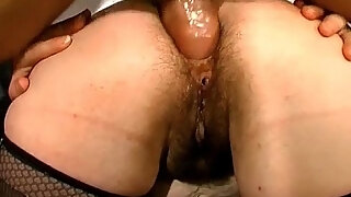 milf redhead get hairy pussy and tight