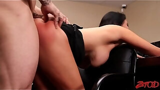 missy martinez busty slut in office