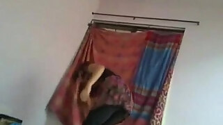 indian college couple enjoying sexual moments