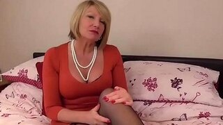 europemature horny older amy solo getting off