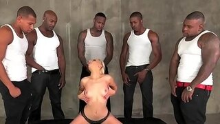 ashley fires gang banged by black dongs