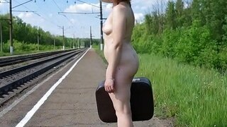 nude traveling