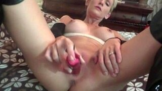 my wife teasing me and sucking my cock