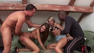 realmomexposed milfs mia and silvie have a foursome