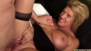 busty mature brit slaves before cuminmouth