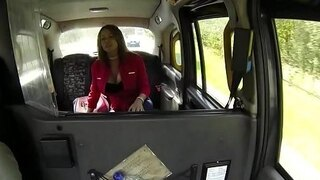 busty mature amateur fucked by taxi driver