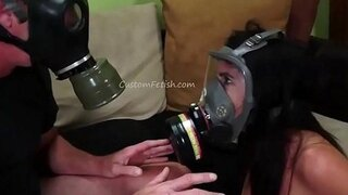gas mask doomsday sex