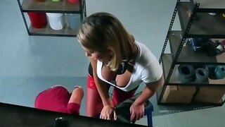 horny employee teaches ass to boss by an increase