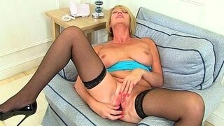 britains best assets stockings high heels and big tits