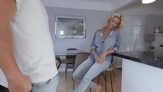 pervmom blonde milf with huge tits gets rammed