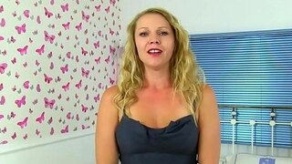 english milf abi has fun with a sex toy