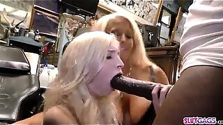 tatoo shop mom and daughter fuck the biggest bbc ever