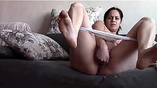 mommy taboo sniffing and stuffing panties