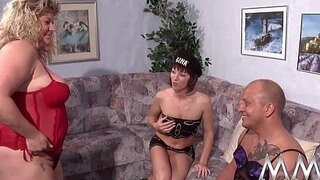 mmv films young and old aged threesome