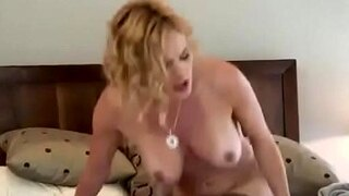 victoria lawson spreads her legs and gets a thick boner in her milf pussy